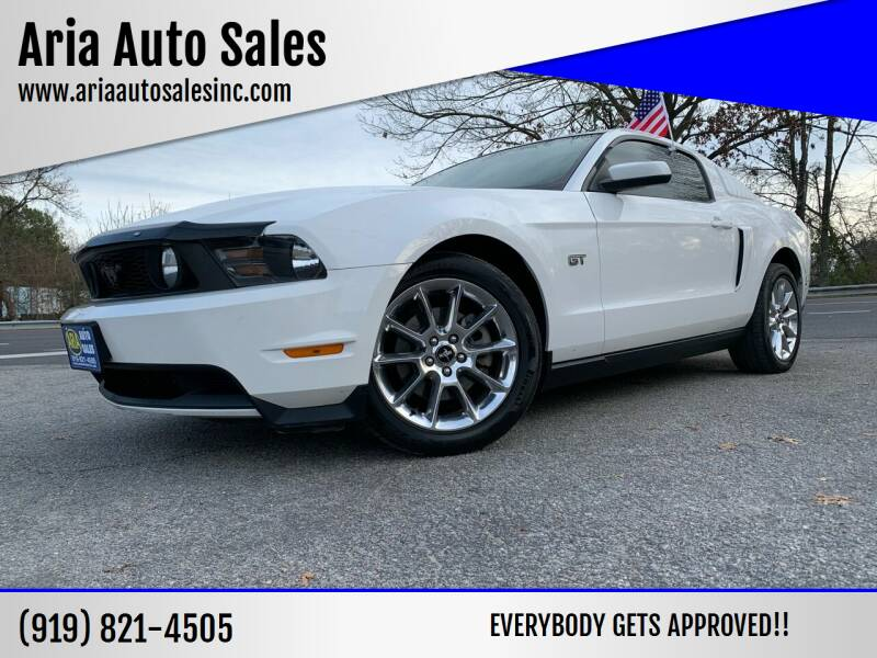 2010 Ford Mustang for sale at ARIA  AUTO  SALES in Raleigh NC