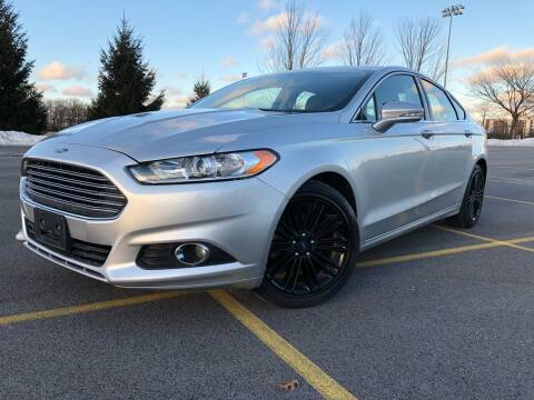 2016 Ford Fusion for sale at Car Stars in Elmhurst IL