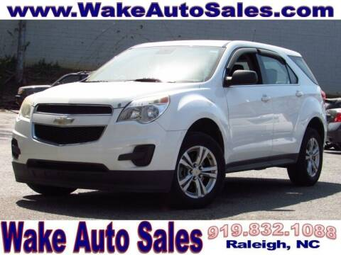 2013 Chevrolet Equinox for sale at Wake Auto Sales Inc in Raleigh NC