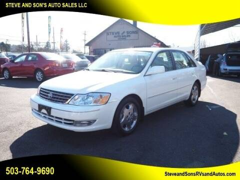 2003 Toyota Avalon for sale at Steve & Sons Auto Sales in Happy Valley OR