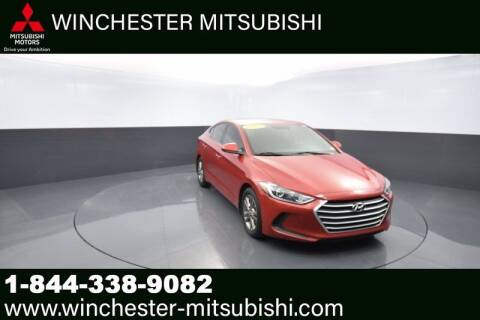 2017 Hyundai Elantra for sale at Winchester Mitsubishi in Winchester VA
