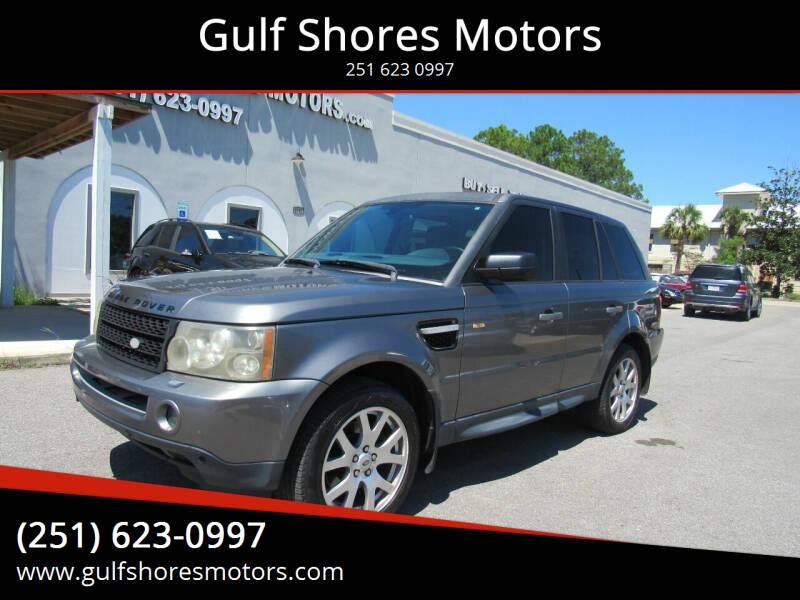 2009 Land Rover Range Rover Sport for sale at Gulf Shores Motors in Gulf Shores AL