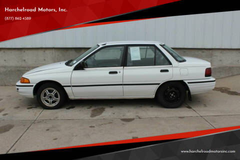 1993 Ford Escort for sale at Harchelroad Motors, Inc. in Wauneta NE