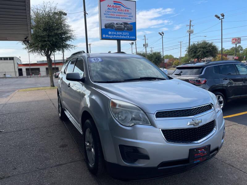 2015 Chevrolet Equinox for sale at Magic Auto Sales in Dallas TX