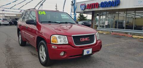 2004 GMC Envoy for sale at I-80 Auto Sales in Hazel Crest IL