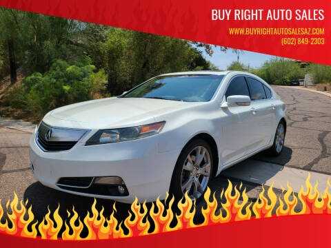 2013 Acura TL for sale at BUY RIGHT AUTO SALES in Phoenix AZ