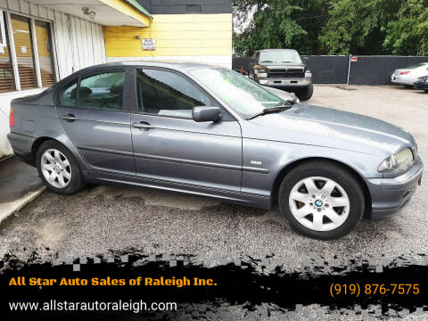 2001 BMW 3 Series for sale at All Star Auto Sales of Raleigh Inc. in Raleigh NC