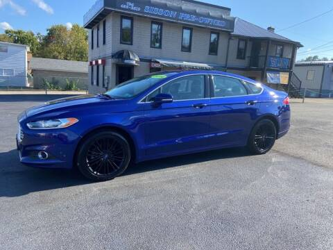 2014 Ford Fusion for sale at Sisson Pre-Owned in Uniontown PA