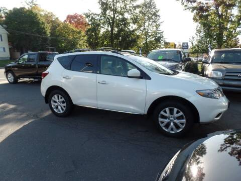 2012 Nissan Murano for sale at CAR CORNER RETAIL SALES in Manchester CT