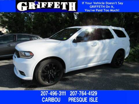 2019 Dodge Durango for sale at Griffeth Mitsubishi - Pre-owned in Caribou ME