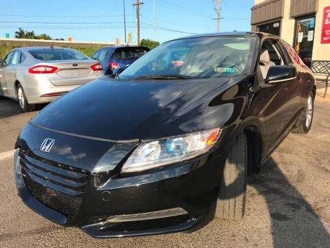 2011 Honda CR-Z for sale at Luxury Unlimited Auto Sales Inc. in Trevose PA