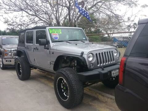 2016 Jeep Wrangler Unlimited for sale at Express AutoPlex in Brownsville TX
