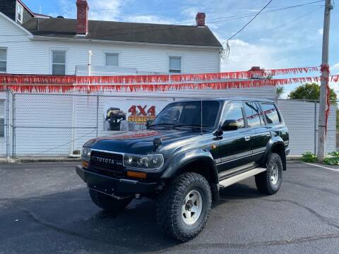 1993 Toyota Land Cruiser for sale at 4X4 Rides in Hagerstown MD