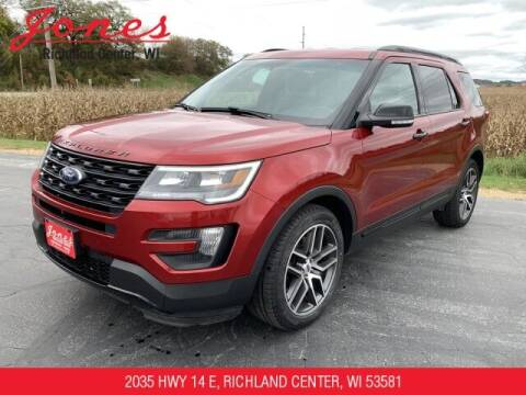 2016 Ford Explorer for sale at Jones Chevrolet Buick Cadillac in Richland Center WI