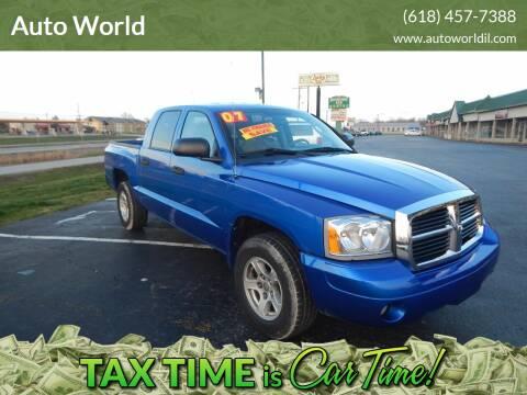 2007 Dodge Dakota for sale at Auto World in Carbondale IL
