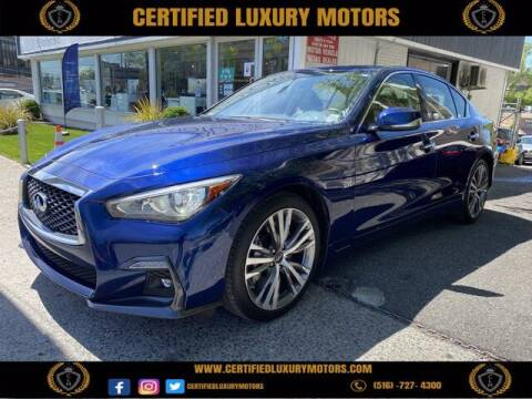 2018 Infiniti Q50 for sale at Certified Luxury Motors in Great Neck NY