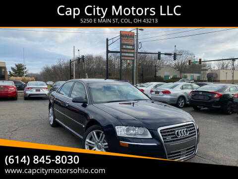 2007 Audi A8 L for sale at Cap City Motors LLC in Columbus OH