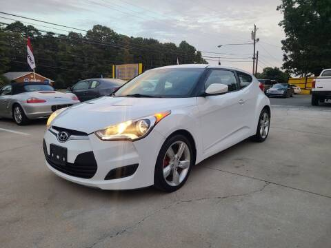 2015 Hyundai Veloster for sale at DADA AUTO INC in Monroe NC