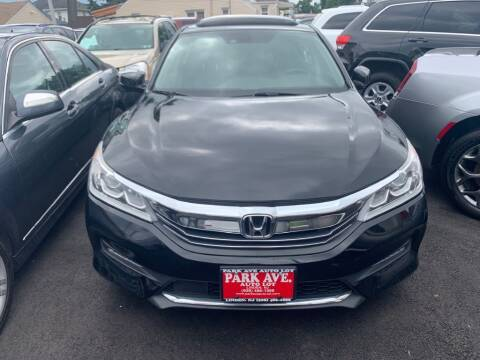 2017 Honda Accord for sale at Park Avenue Auto Lot Inc in Linden NJ