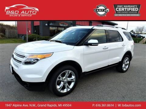 2014 Ford Explorer for sale at B&D Auto Sales Inc in Grand Rapids MI