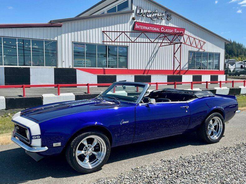 1968 Chevrolet Camaro for sale at Drager's International Classic Sales in Burlington WA