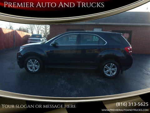 2016 Chevrolet Equinox for sale at Premier Auto And Trucks in Independence MO