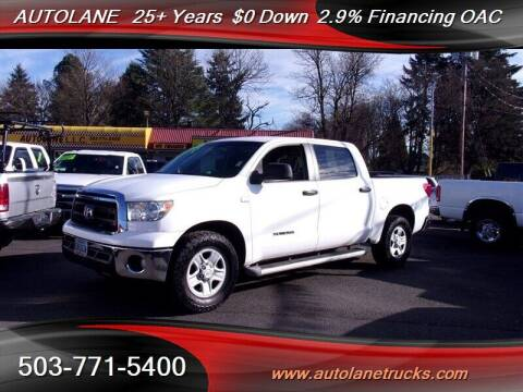 2010 Toyota Tundra for sale at Auto Lane in Portland OR