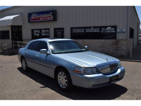 2006 Lincoln Town Car for sale at Chaparral Motors in Lubbock TX