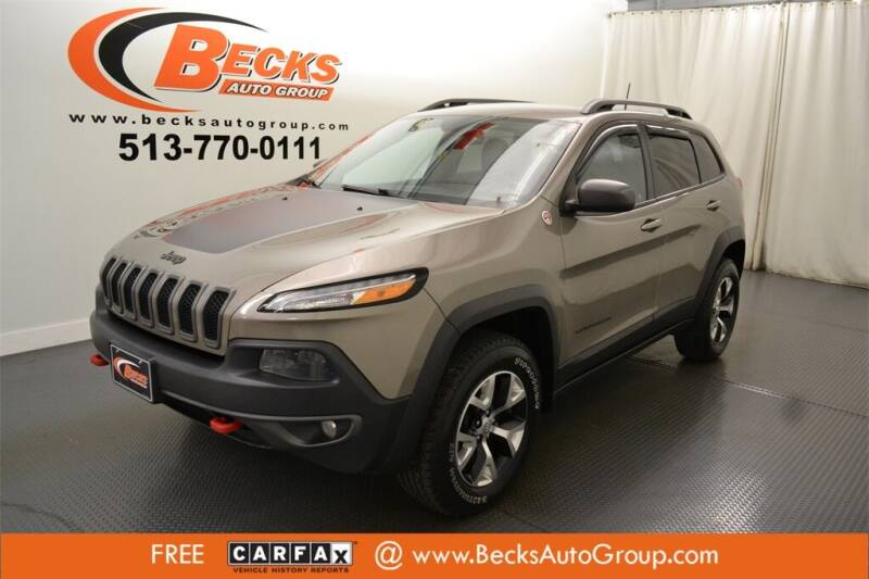 2017 Jeep Cherokee for sale at Becks Auto Group in Mason OH