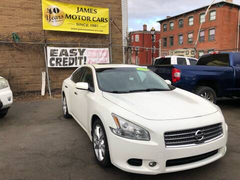 2013 Nissan Maxima for sale at James Motor Cars in Hartford CT