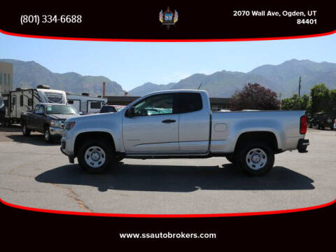 2018 Chevrolet Colorado for sale at S S Auto Brokers in Ogden UT