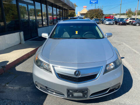 2012 Acura TL for sale at J Franklin Auto Sales in Macon GA