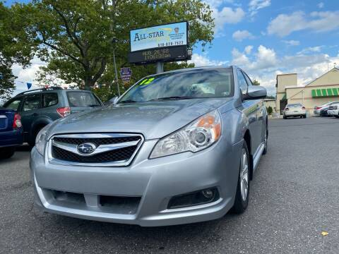 2012 Subaru Legacy for sale at All Star Auto Sales and Service LLC in Allentown PA