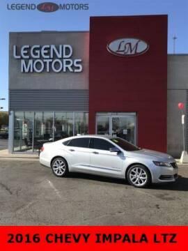 2016 Chevrolet Impala for sale at Legend Motors of Waterford - Legend Motors of Ferndale in Ferndale MI