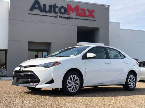 2019 Toyota Corolla for sale at AutoMax of Memphis - V Brothers in Memphis TN