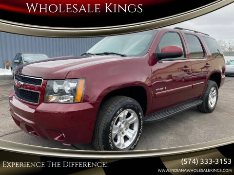 2007 Chevrolet Tahoe for sale at Wholesale Kings in Elkhart IN