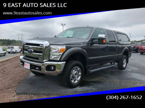 2015 Ford F-250 Super Duty for sale at 9 EAST AUTO SALES LLC in Martinsburg WV