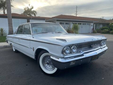 1963 Ford Galaxie 500 for sale at SoCal Motors in Los Alamitos CA