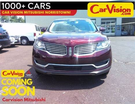 2018 Lincoln MKX for sale at Car Vision Buying Center in Norristown PA