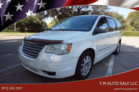 2009 Chrysler Town and Country for sale at F.M Auto Sale LLC in Dallas TX