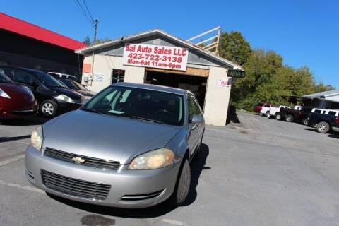 2006 Chevrolet Impala for sale at SAI Auto Sales - Used Cars in Johnson City TN
