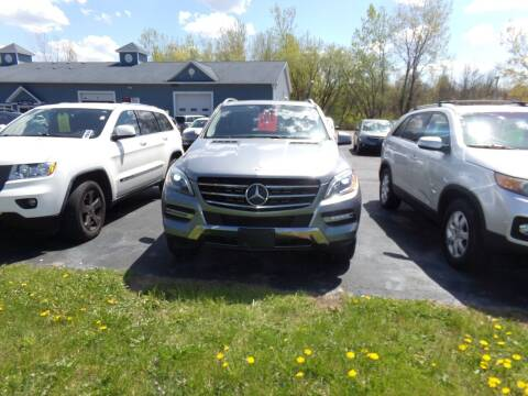 2013 Mercedes-Benz M-Class for sale at Pool Auto Sales Inc in Spencerport NY