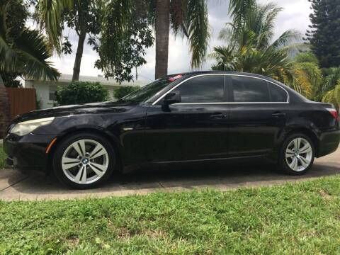 2009 BMW 5 Series for sale at Ultimate Car Solutions in Pompano Beach FL