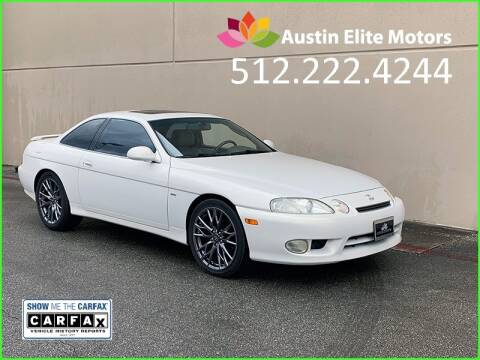 1999 Lexus SC 400 for sale at Austin Elite Motors in Austin TX