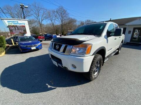 2014 Nissan Titan for sale at Sports & Imports in Pasadena MD