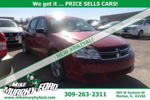 2013 Dodge Avenger for sale at Mike Murphy Ford in Morton IL