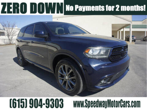 2016 Dodge Durango for sale at Speedway Motors in Murfreesboro TN