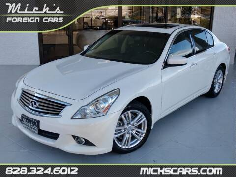 2013 Infiniti G37 Sedan for sale at Mich's Foreign Cars in Hickory NC