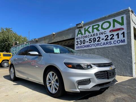 2016 Chevrolet Malibu for sale at Akron Motorcars Inc. in Akron OH