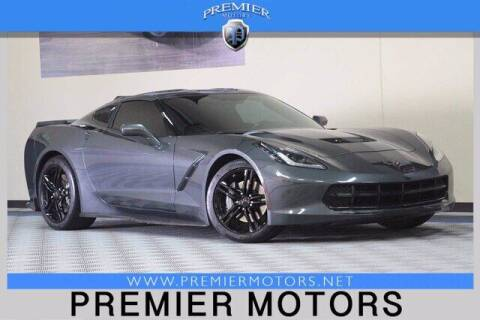 2017 Chevrolet Corvette for sale at Premier Motors in Hayward CA